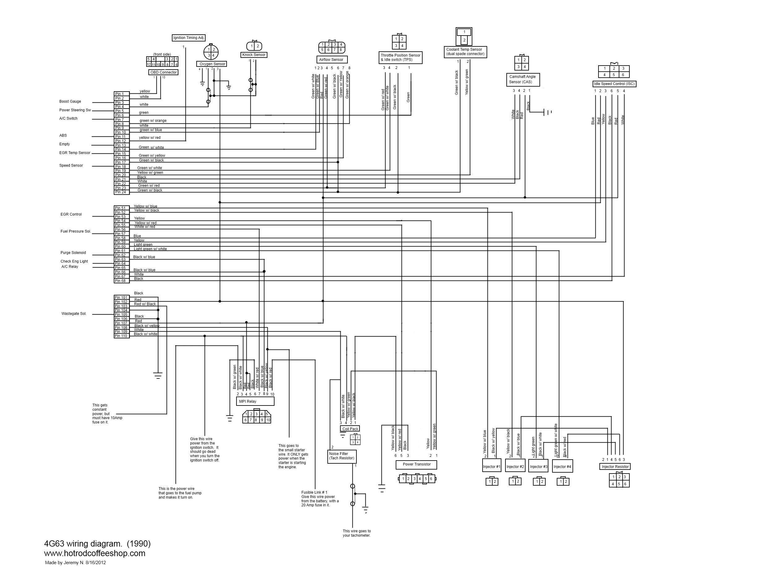 G wiring diagrams schematics for engine swaps