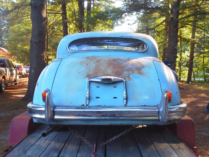 1954 Jaguar Saloon