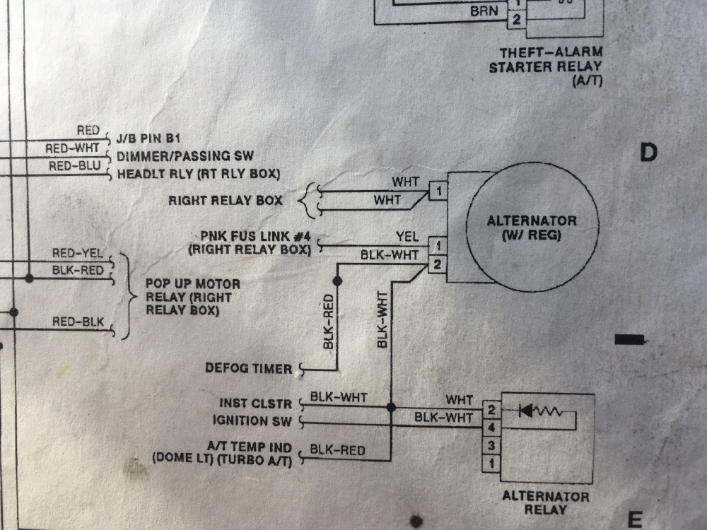 Alternator wiring Question -www.HotrodCoffeeshop.com | Dd Alternator Wiring Diagram |  | HotrodCoffeeShop